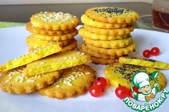 Рецепт: Песочное печенье на желтках