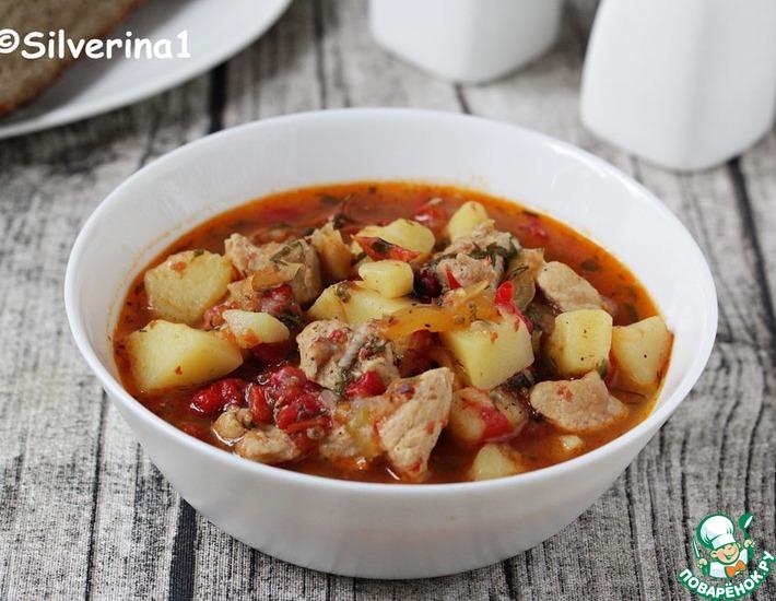 Рецепт: Свинина по-краснодарски