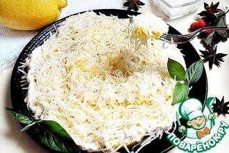Рецепт: Закуска Лимонник с сыром