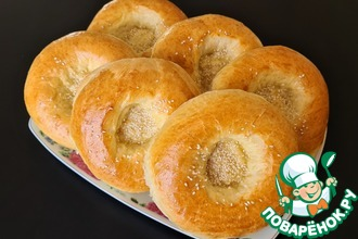 Рецепт: Мини домашний хлеб