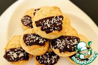 Рецепт: Печенье Баунти