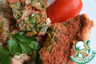 Рецепт: Творожно-томатная закуска