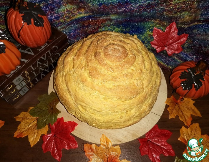 Рецепт: Хлеб Золотой октябрь