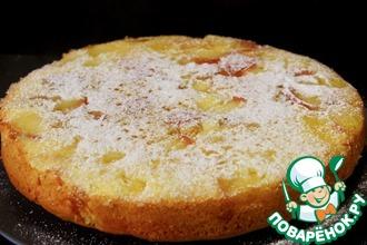 Рецепт: Пирог Яблочная карамелька