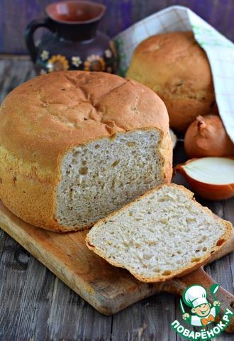 Хлеб домашний с луком