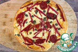 Рецепт: Открытый пирог Маришка