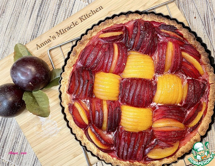 Рецепт: Тарт со сливами