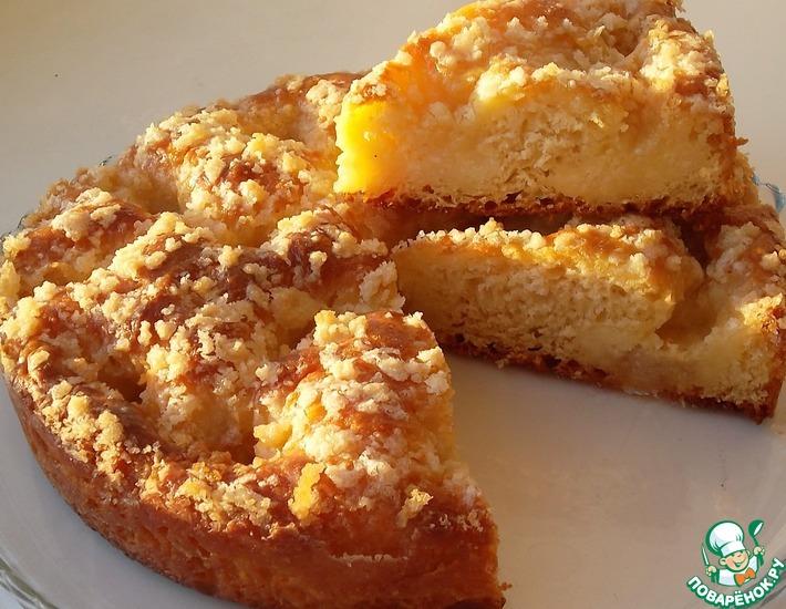 Рецепт: Французский сливочный пирог