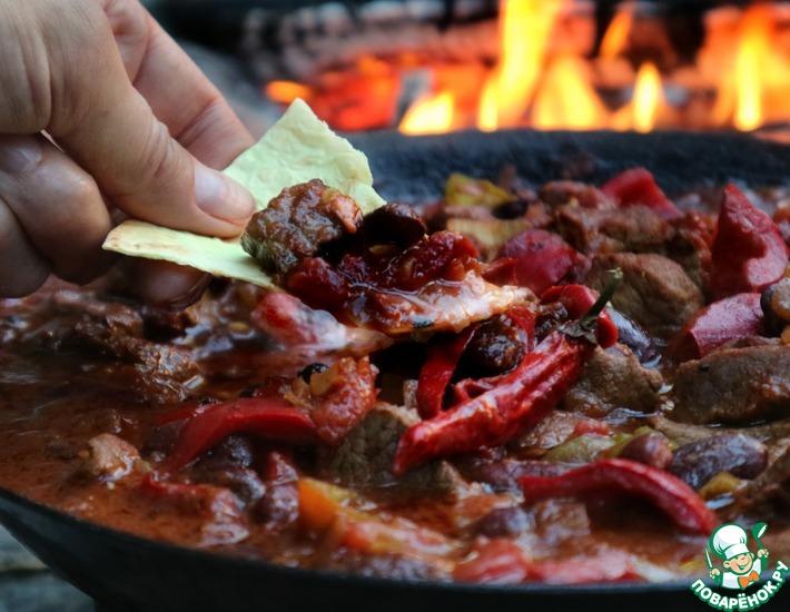 Рецепт: Чили кон карне