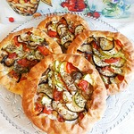 Пирог с индейкой и овощами