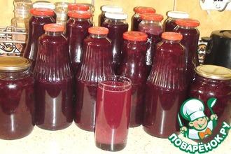 Рецепт: Сироп из винограда на зиму