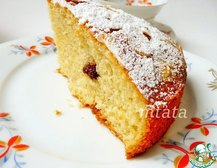 Рецепт: Пирог простой