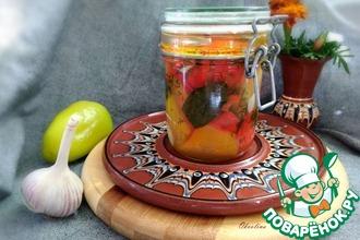 Рецепт: Закуска из болгарского перца