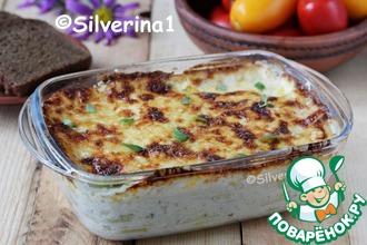 Рецепт: Гратен с картофелем и кабачками