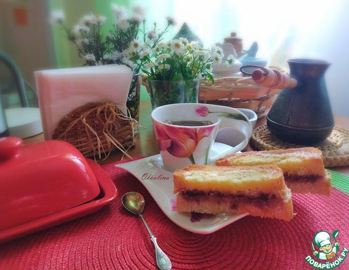 Рецепт: Пирожные из батона