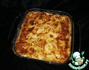 Лазанья с цветной капустой и сыром — пошаговый рецепт с фото
