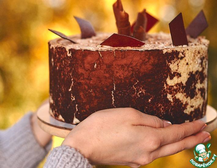 Рецепт: Вертикальный яблочный торт