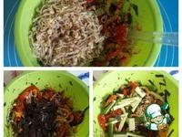 Овощной салат с проростками маша ингредиенты
