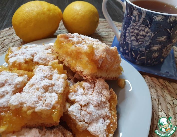 Рецепт: Венский пирог с лимонной начинкой