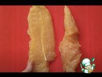 Куриное филе в сметанном кляре ингредиенты