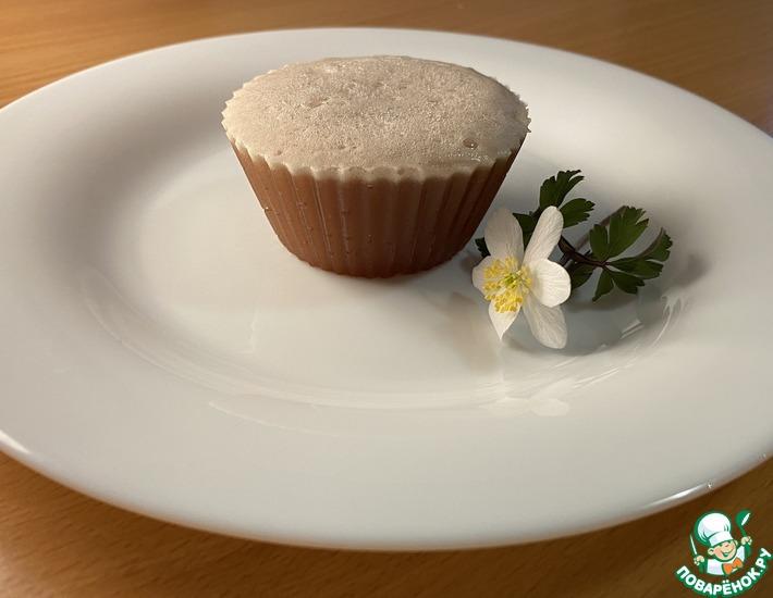 Рецепт: Нежный шоколадный десерт с желатином