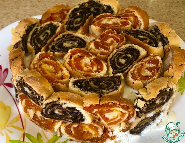 Рецепт: Пирог-торт «В гостях у сказки»