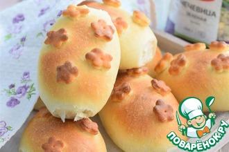 Рецепт: Пирожки картофельные с чечевицей и грибами