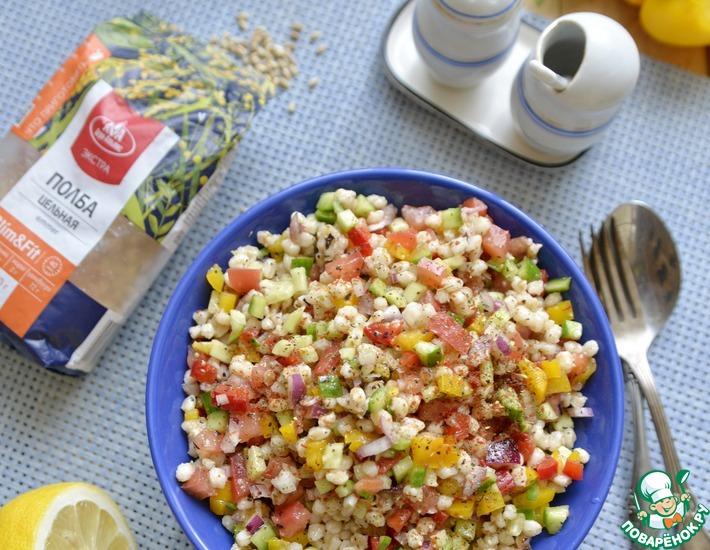Рецепт: Салат с полбой от Ники