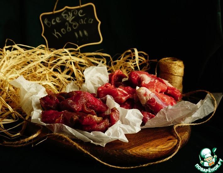 Рецепт: Соленое мясо для колбасных изделий