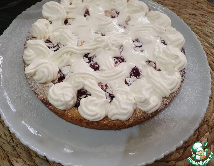Рецепт: Венский вишневый пирог