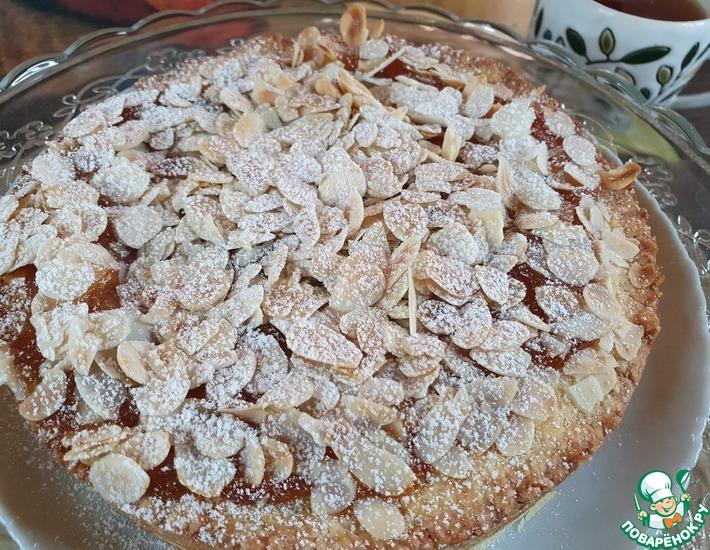 Рецепт: Абрикосовый пирог с орехами