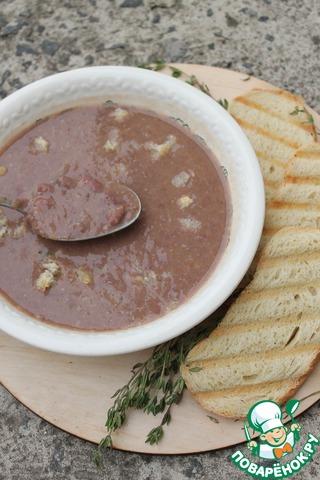 Кремовый фасолевый суп