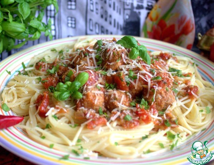 Рецепт: Митболы по-итальянски