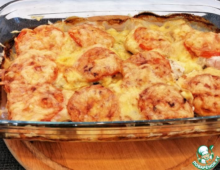 Рецепт: Мясо по-французки из куриного филе