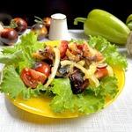 Баклажановый салат Дачник