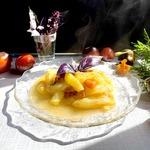 Тушёные кабачки с помидорами