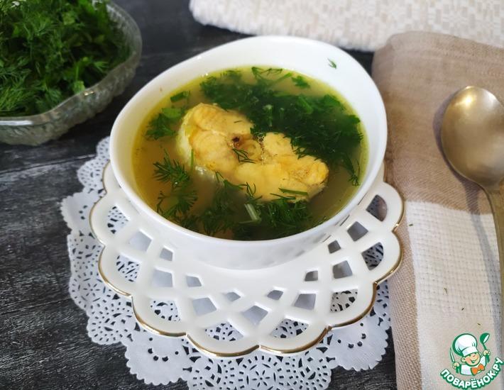 Рецепт: Рыбный суп по-поморски из форели