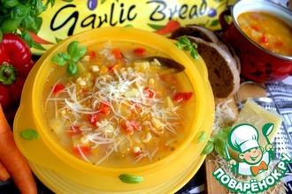 Рецепт: Чечевичный суп по-итальянски