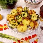 Картофельные клецки со шкварками