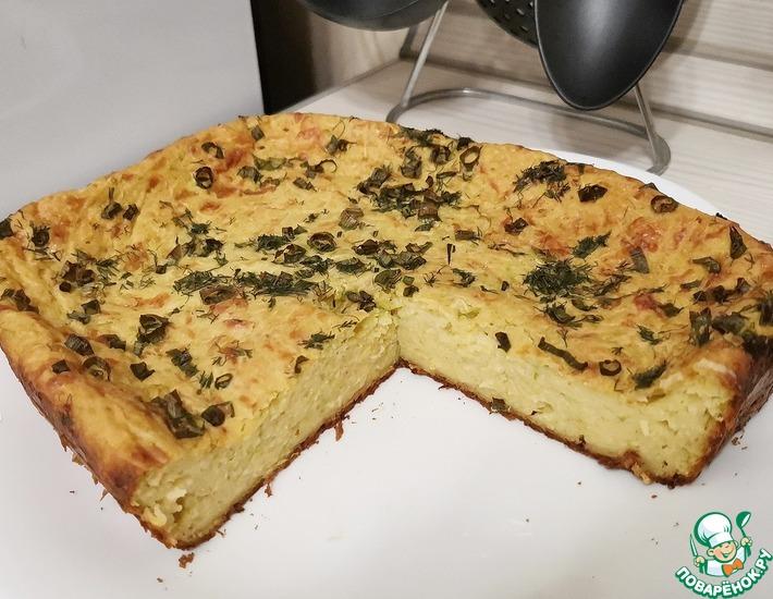 Рецепт: Пряный кабачковый пирог