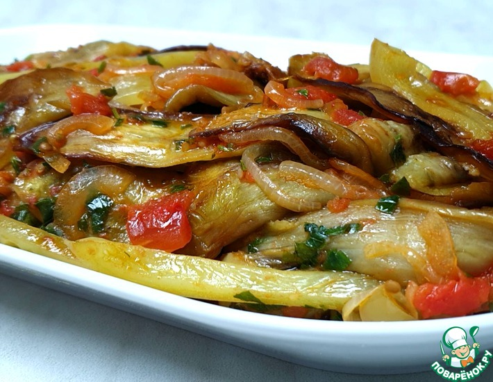 Рецепт: Баклажаны по-армянски
