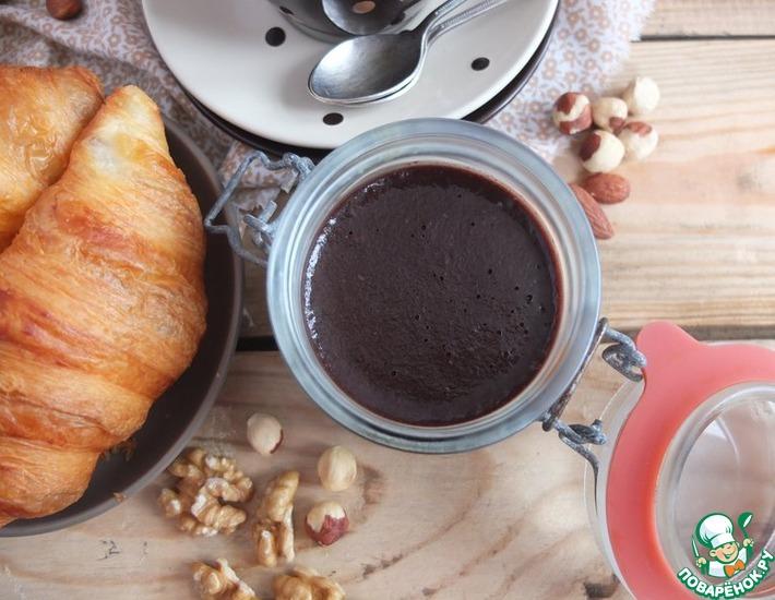 Рецепт: Шоколадная паста с орехами