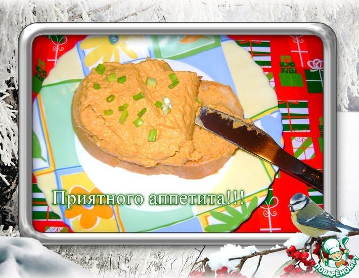 Рецепт: Намазка из рыбных консервов