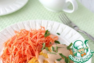 Рецепт: Картофельные котлеты с ветчиной Студенческие