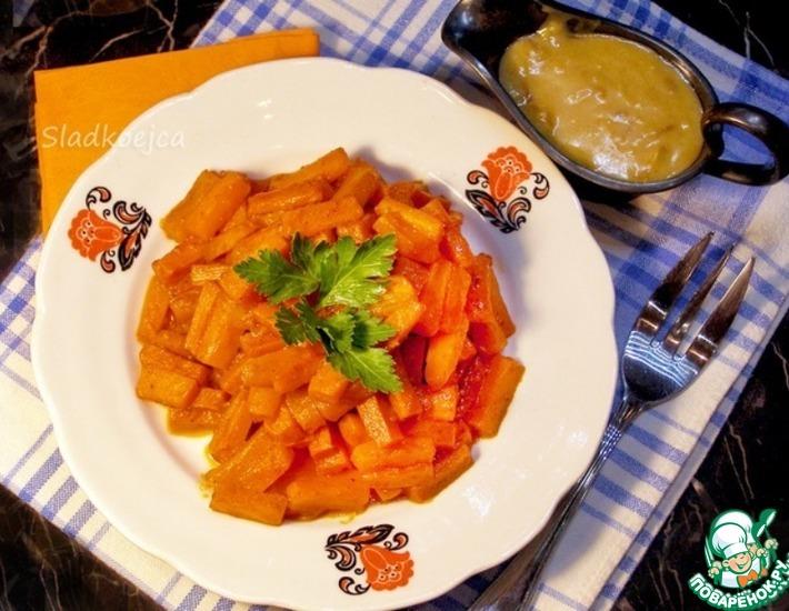 Гарнир морковный