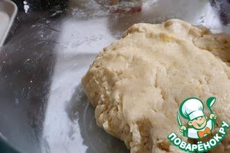 Рецепт: Песочное тесто для пирогов, рулетов