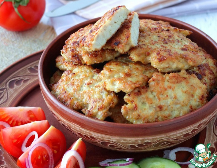 Рецепт: Филе курицы по-албански