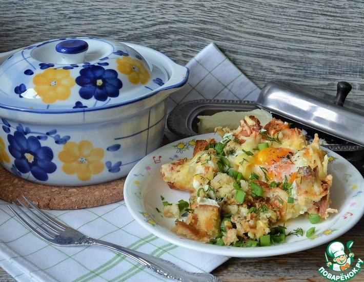 Рецепт: Яйца по-украински