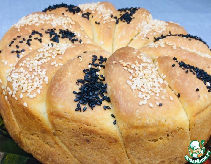 Рецепт: Сербский сливочный хлеб Уши слона