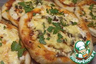 Рецепт: Пицца Школьная